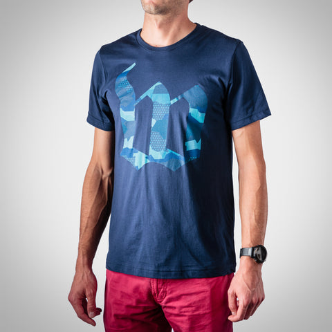 Men's Urban Assault Tee - Hyper Blue
