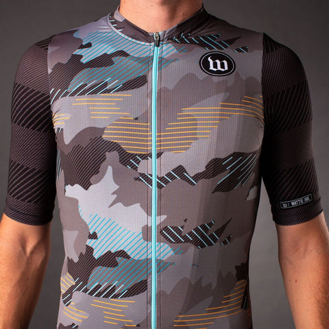 Men's Recon Contender 2.0 SS Cycling Jersey - Charcoal