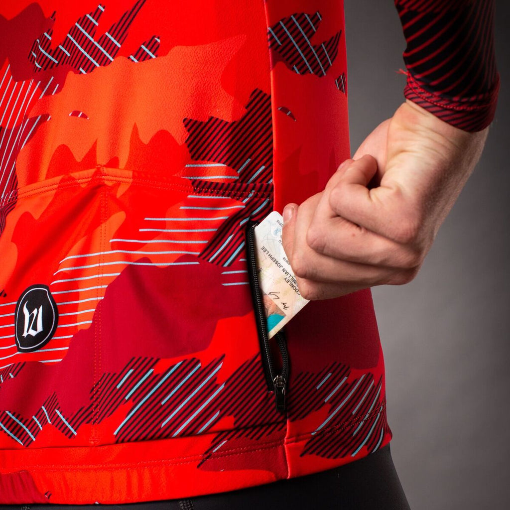 Men's Recon Contender 2.0 Long Sleeve Cycling Jersey - Titan