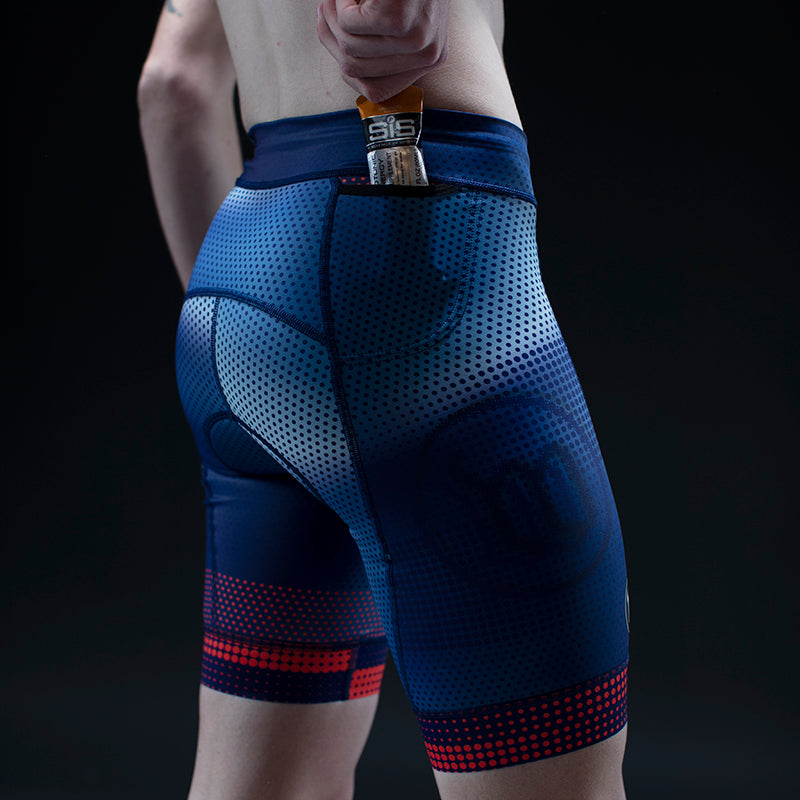 Men's Pixel Contender 2.0 Tri Short - Blue