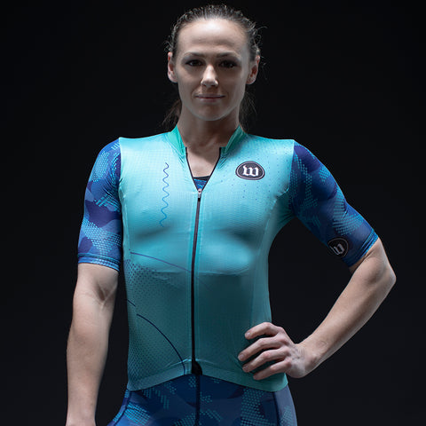 Pixel Camo Contender 2.0 SS Womens Cycling Jersey