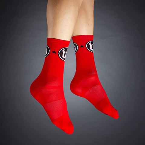 The W Classic Red Socks