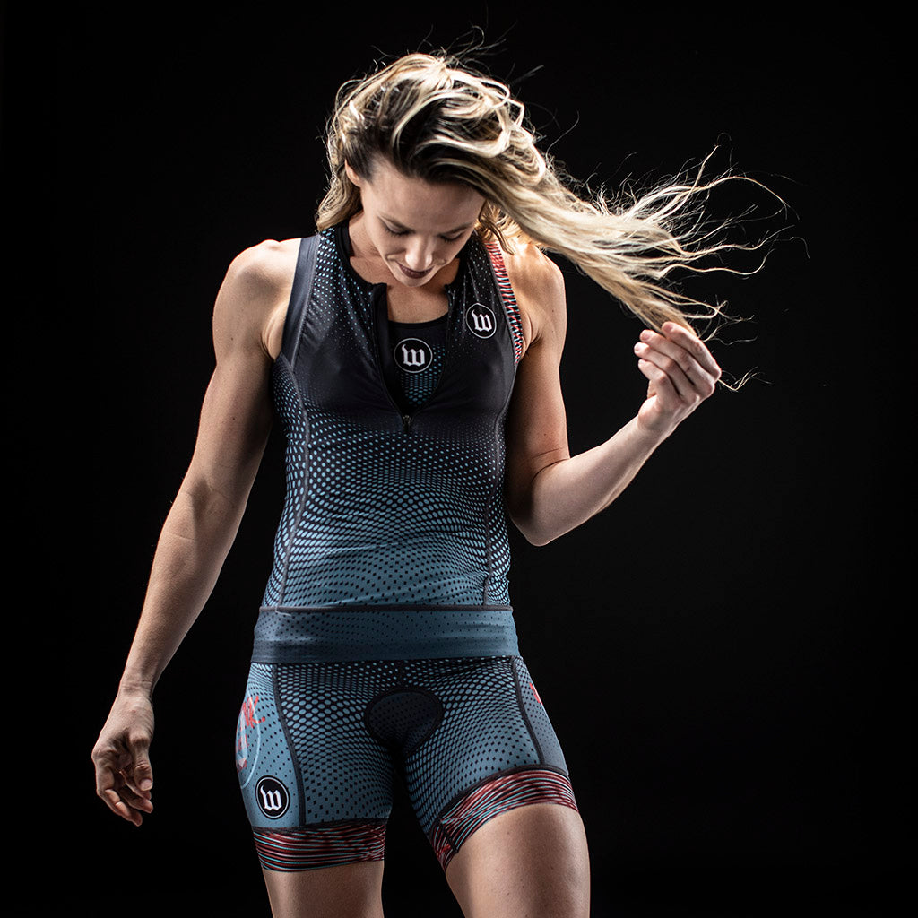 Women's TechnoPop Contender 2.0 Tri Top - Titan