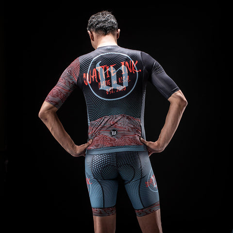 Men's TechnoPop Contender 2.0 SS Cycling Jersey - Titan-hover