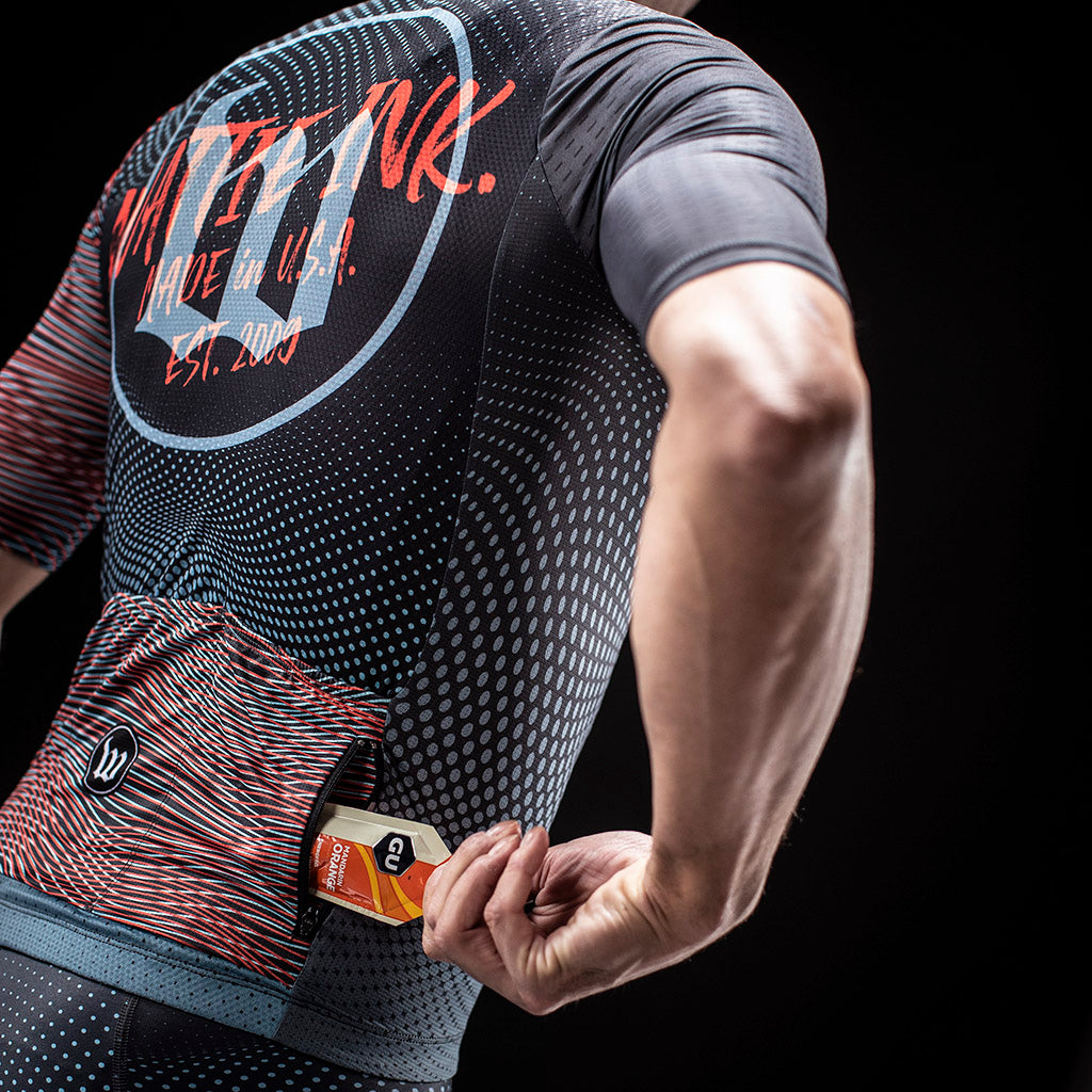 Men's TechnoPop Contender 2.0 SS Cycling Jersey - Titan