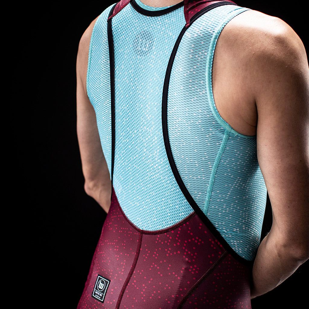 Women's TechnoPop Contender Base Layer - Maroon