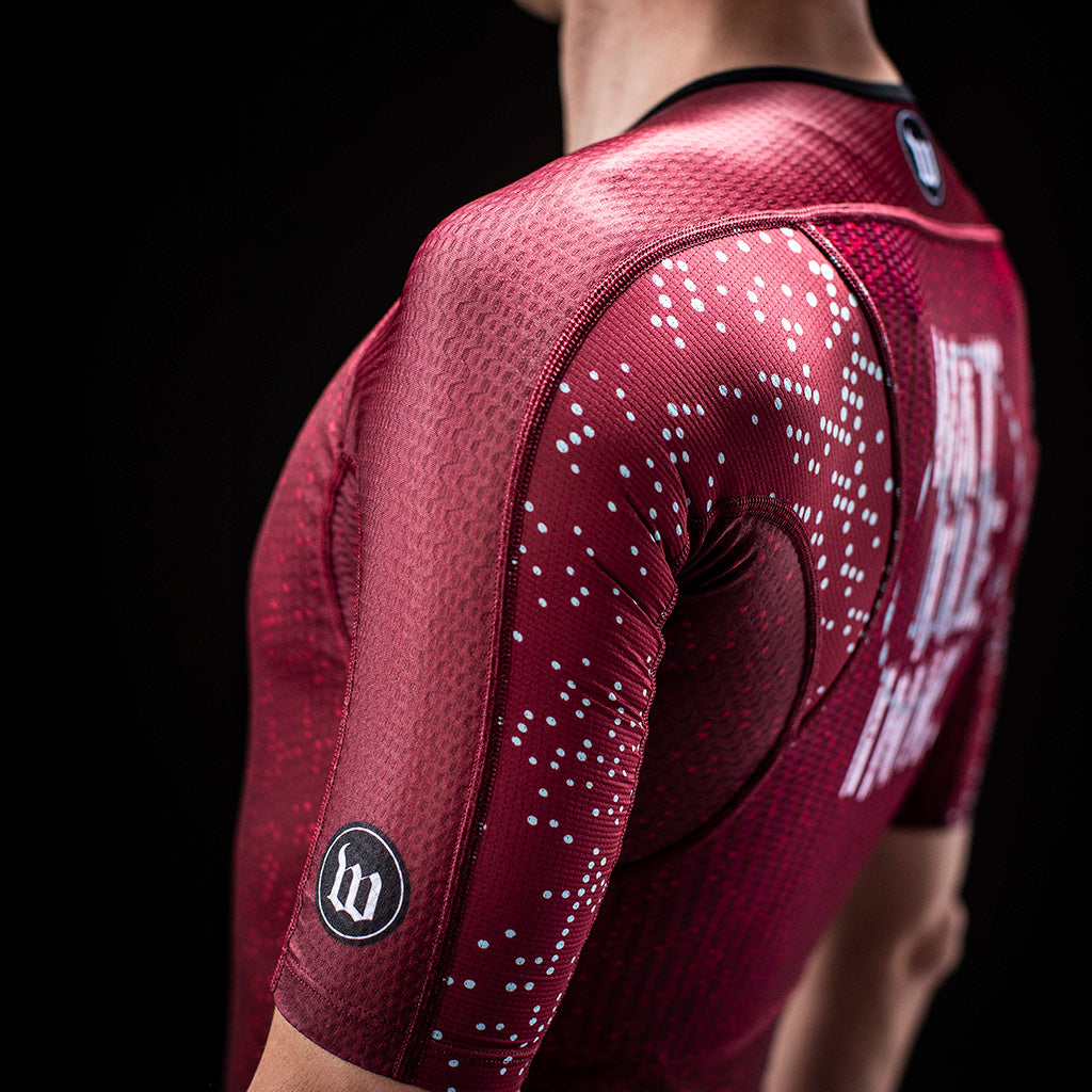 Men's TechnoPop Champion Aero Jersey - Maroon