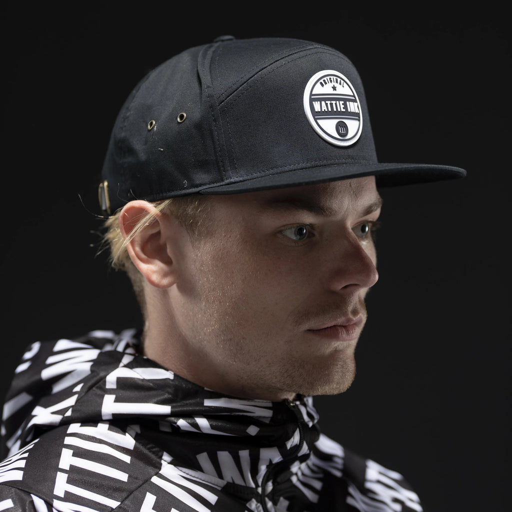 Wattie Circle Patch Hat