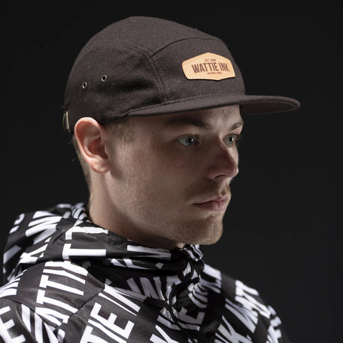 Wattie Leather Patch Hat-hover