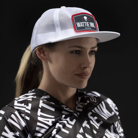 EST Full Mesh White Trucker