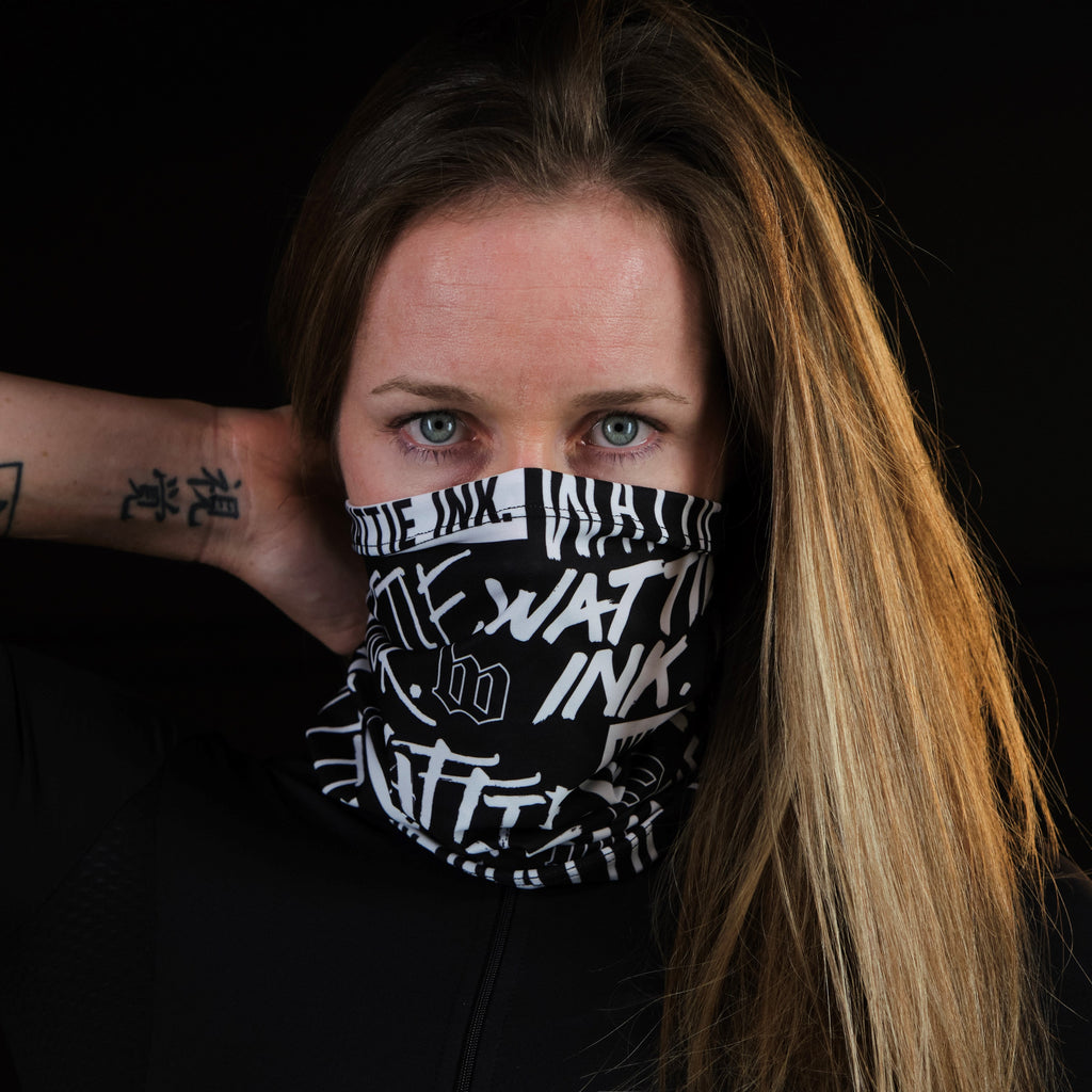 Street Punk Neck Gaiter - Black