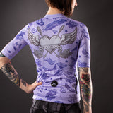 Women's Parlor Contender 2.0 SS Jersey - Lavender