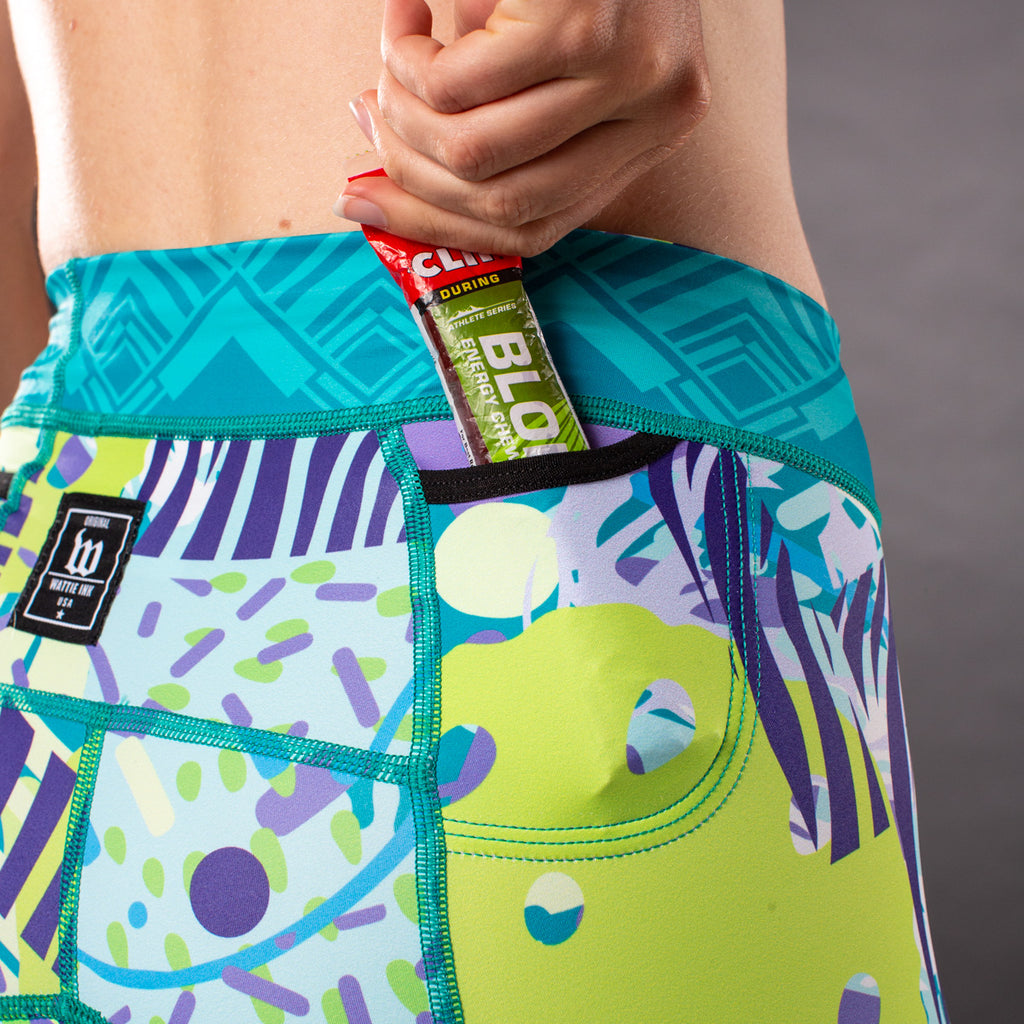Women's Pop Art Contender 2.0 Tri Short - Riviera