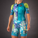 Pop Art Champion Womens Tri-Speedsuit - Riviera