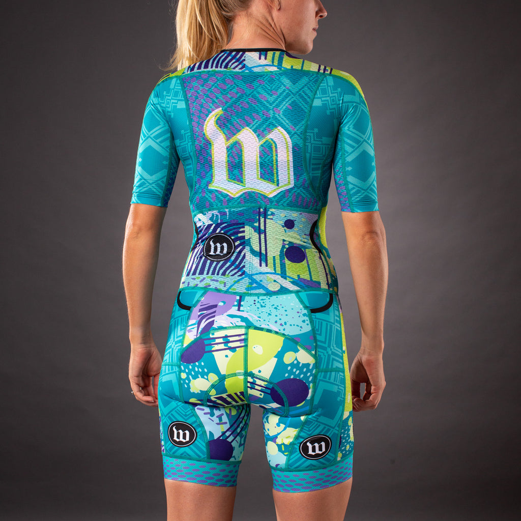 Women's Pop Art Riviera Champion Tri Suit