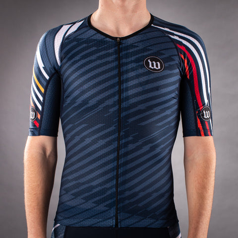 Men's Axiom 2.0 Notte Champion Tri Aero Jersey