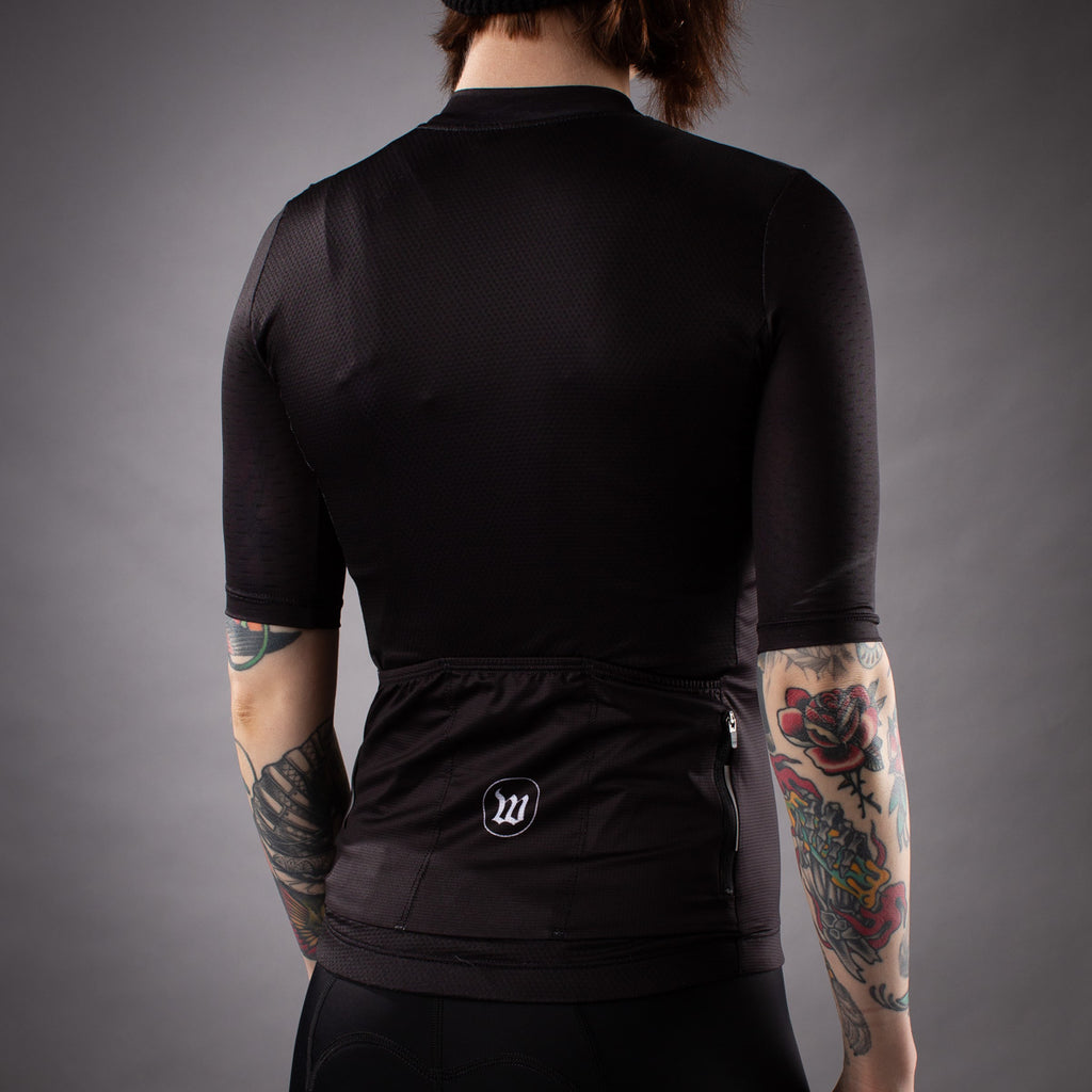 Women's Classics Collection Contender 2.0 SS Cycling Jersey - Black