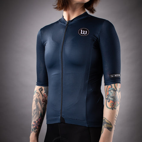 Women's Classics Contender 2.0 SS Cycling Jersey - Notte