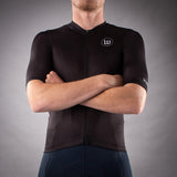 Men's Classics Collection Contender 2.0 SS Cycling Jersey - Black