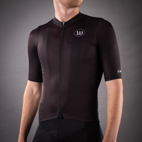 Men's Classics Contender 2.0 SS Cycling Jersey - Black