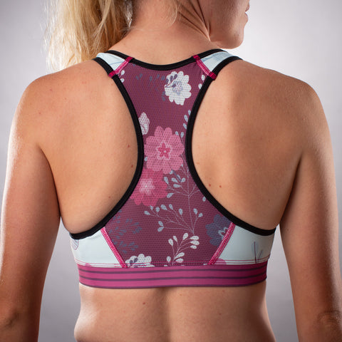 Women's Contender 2.0 Race Bra - Meadow
