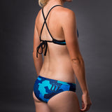 Women's Urban Assault Hyper Blue Bikini Bottom