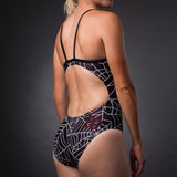 Women's Black Widow One Piece Swimsuit