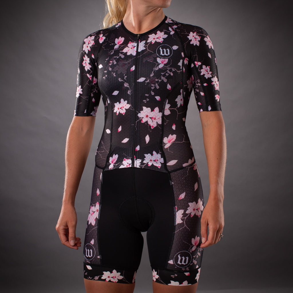 Women's Hana Champion Tri Suit - Floral