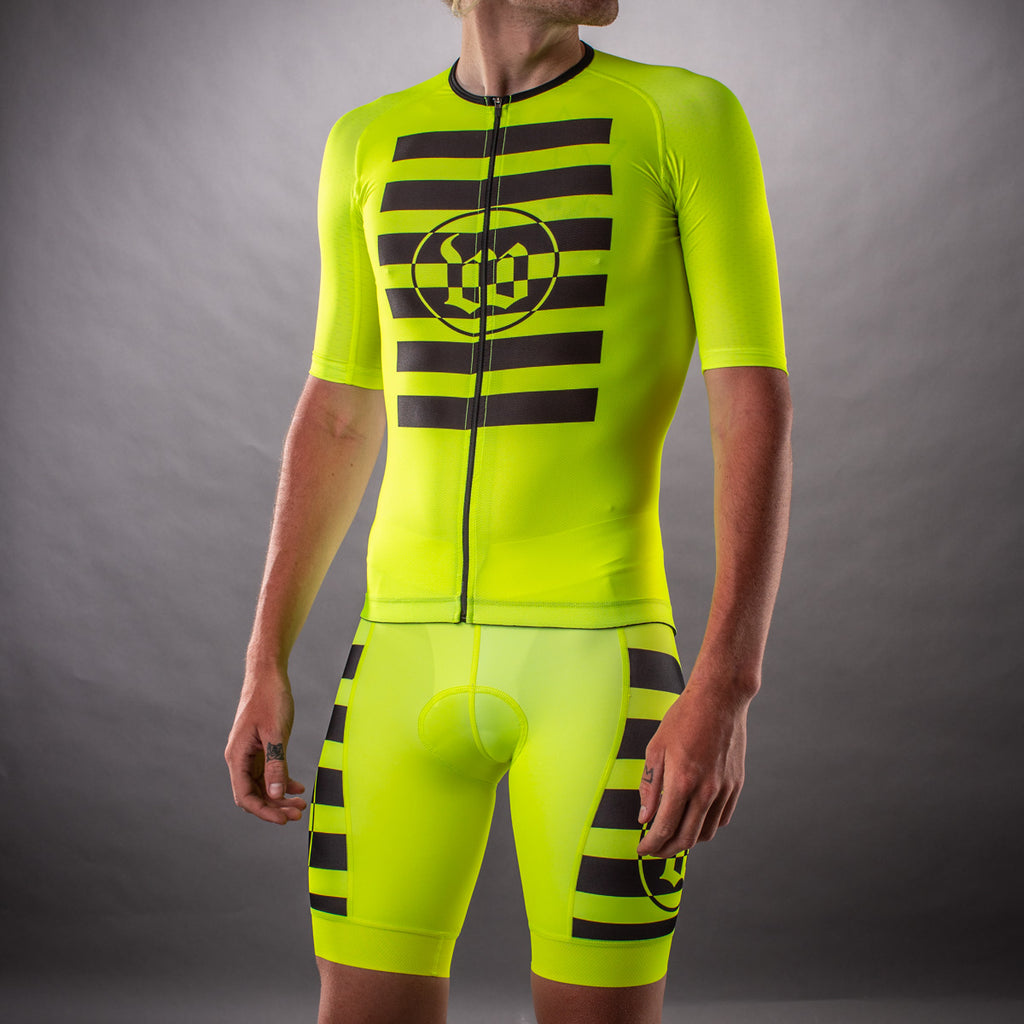Men's Flash Contender 2.0 Tri Short - Yellow