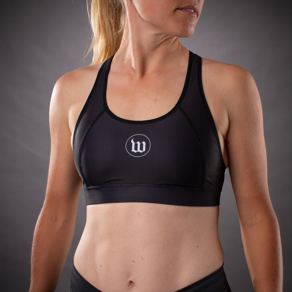 Women's Flash Contender Race Bra - Black