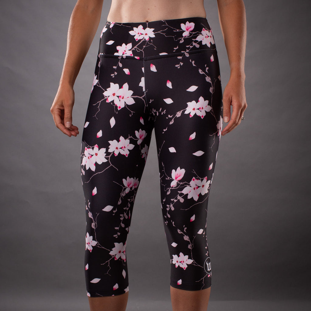 Women's Hana Contender Running Tight - Floral