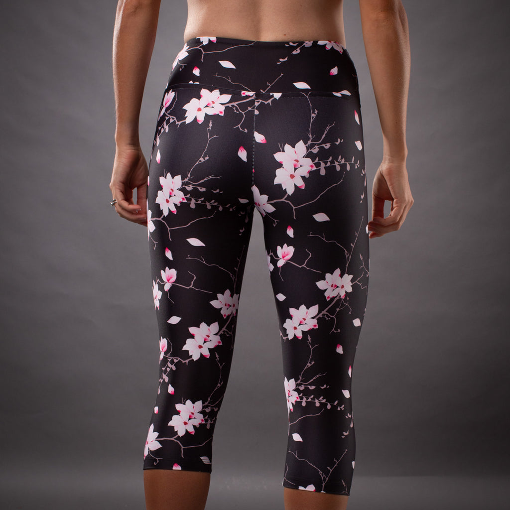 Women's Hana Collection Contender Running Tight - Floral