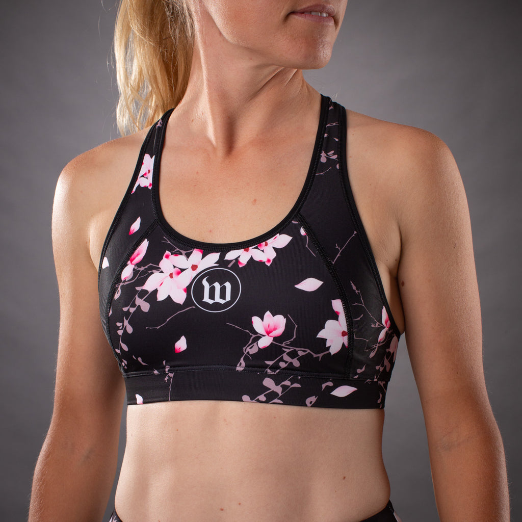Women's Hana Collection Contender Race Bra - Floral