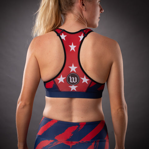 Women's Freedom 3.0 Limited Edition July 4th Race Bra-hover