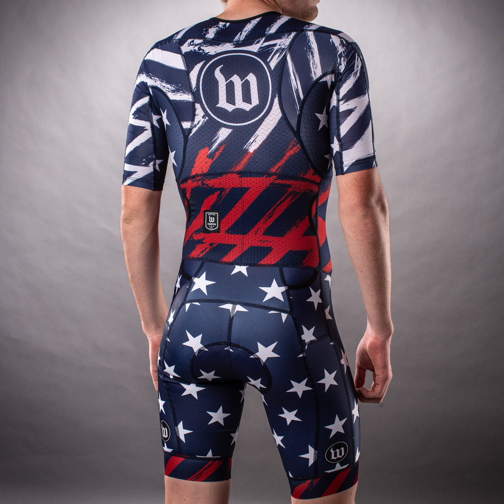 Men's Freedom 3.0 Limited Edition July 4th Tri Suit Bundle