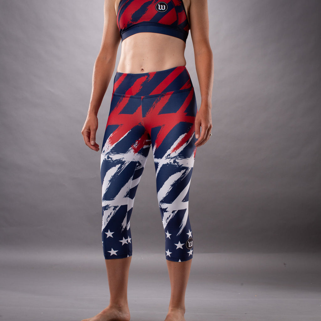Women's Freedom 3.0 Limited Edition July 4th Race Bra