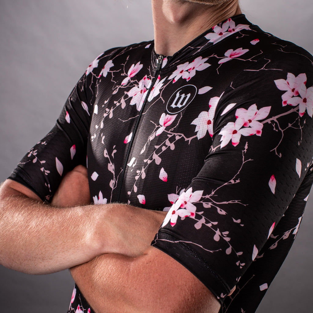 Men's Hana Collection Contender 2.0 Cycling Jersey - Floral