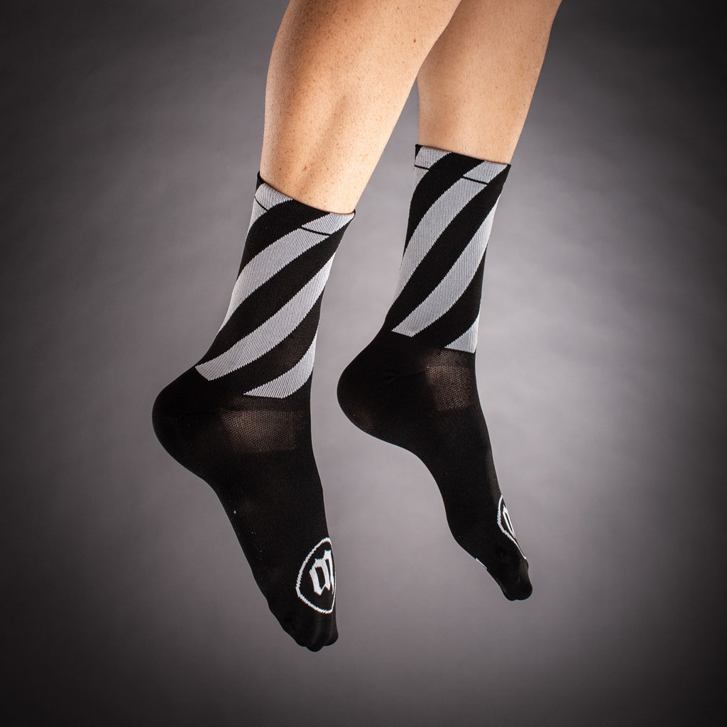 Street Punk Socks - Black