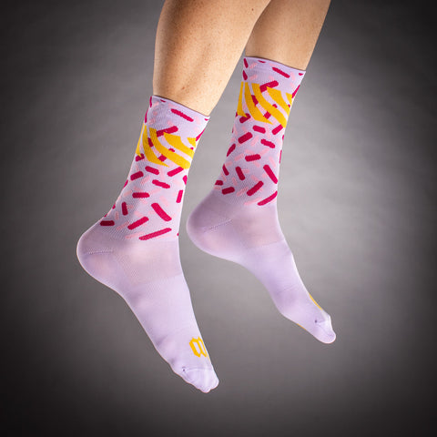 Pop Art Socks - Gold