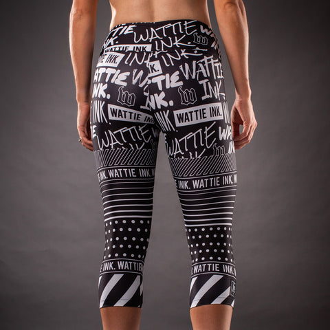 Women's Street Punk Contender Running Tights-hover