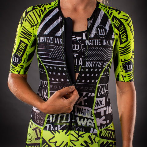 Women's Street Punk Champion Tri Suit-hover