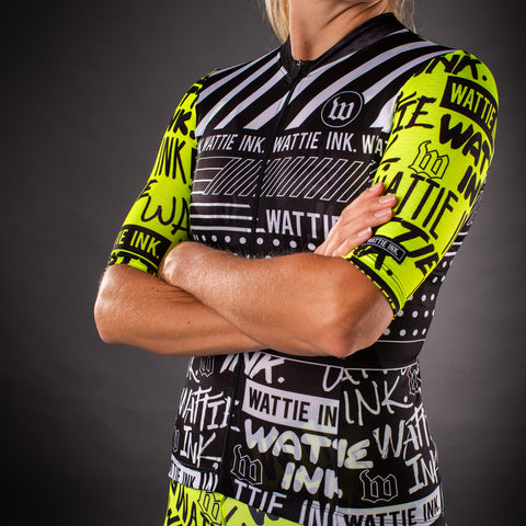 Women's Street Punk Contender 2.0 Cycling Jersey-hover