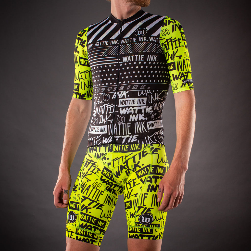 Men's Street Punk Contender Bib Short