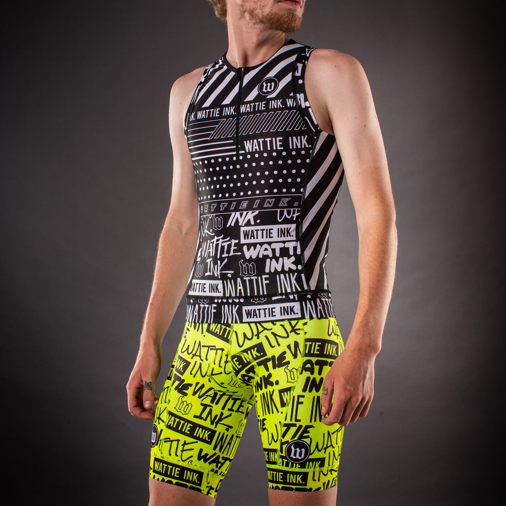 Men's Street Punk Contender Aero Triathlon Top