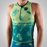 Men's Bones & Sand Contender Aero Triathlon Top - Maui