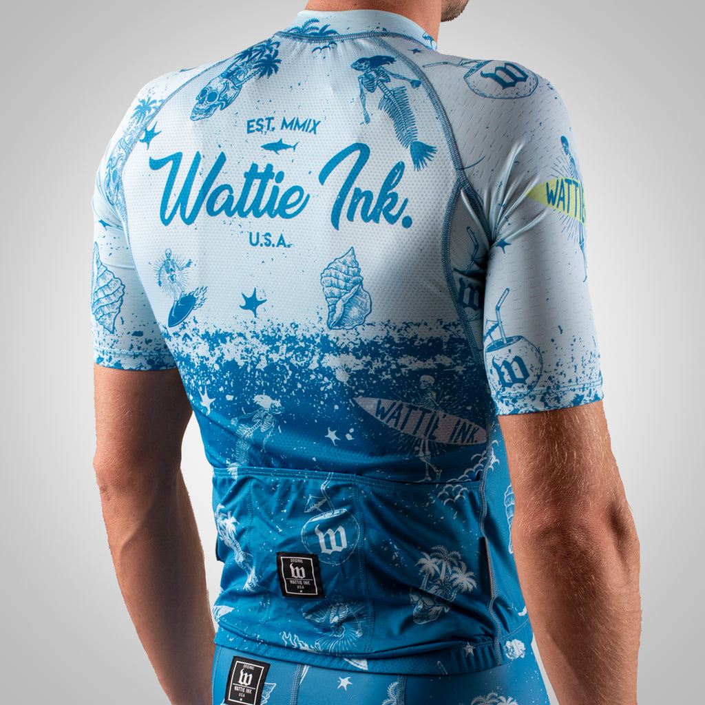 Men's Bones & Sand Contender 2 Cycling Jersey - Slate