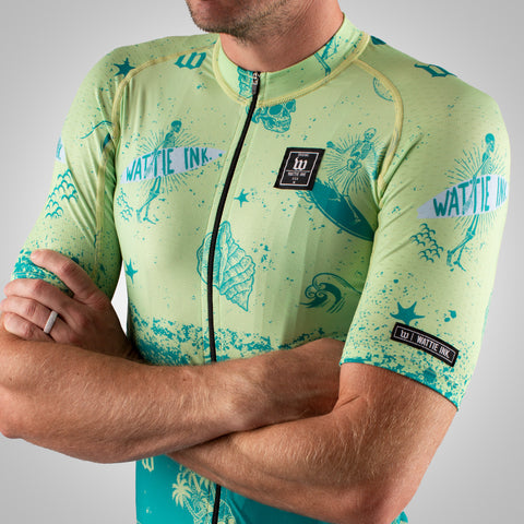 Men's Bones & Sand Contender 2 Cycling Jersey - Maui