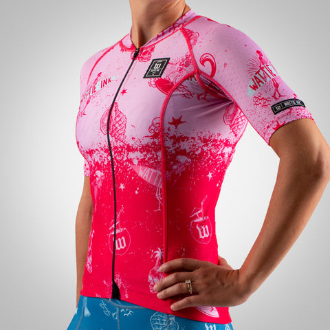 Women's Bones & Sand Contender 2 Cycling Jersey - Maria