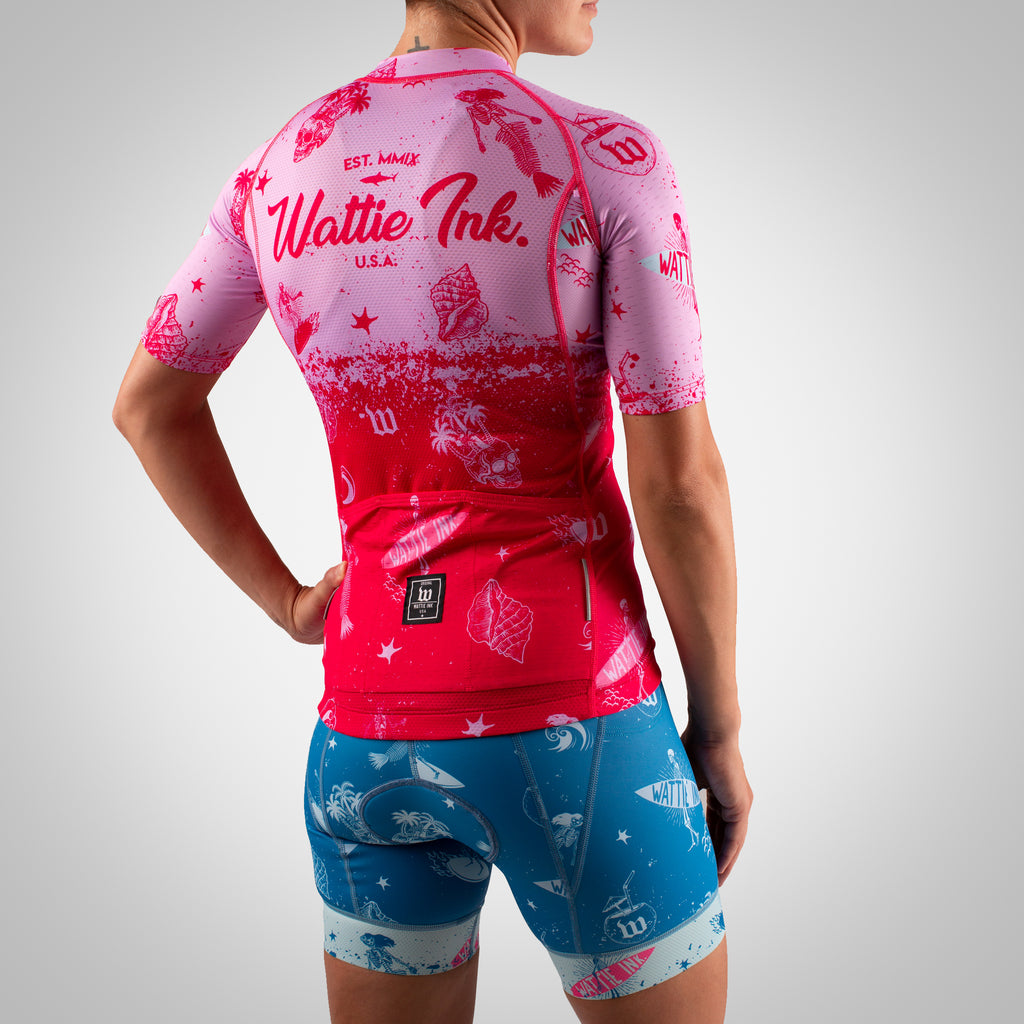 Women's Bones & Sand Maria Contender 2 Cycling Jersey