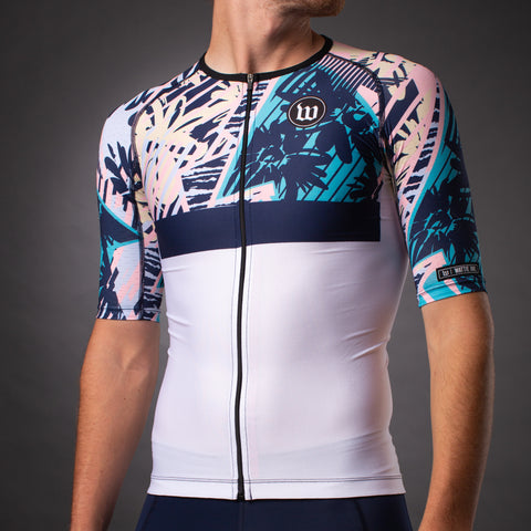 Men's Endless Summer Contender Aero Triathlon Jersery